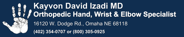 Hand Wrist Elbow Surgeon: Izadi Orthopedics: Omaha Ne